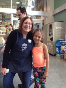 Sadie Rae and Manager Ann of Whole Foods Danbury