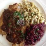 Chicken Jagerschnitzel