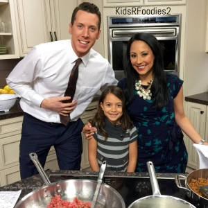 Sadie Rae with Ryan Kristafer and Teresa Dufour