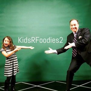 Sadie Rae and Meteorologist Gil Simmons