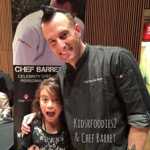 Sadie Rae & Chef Barret